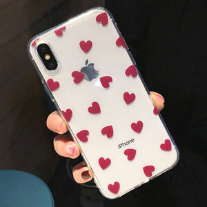 Accessories - Red Heart iPhone Case 7 8 Plus X XS XR Max
